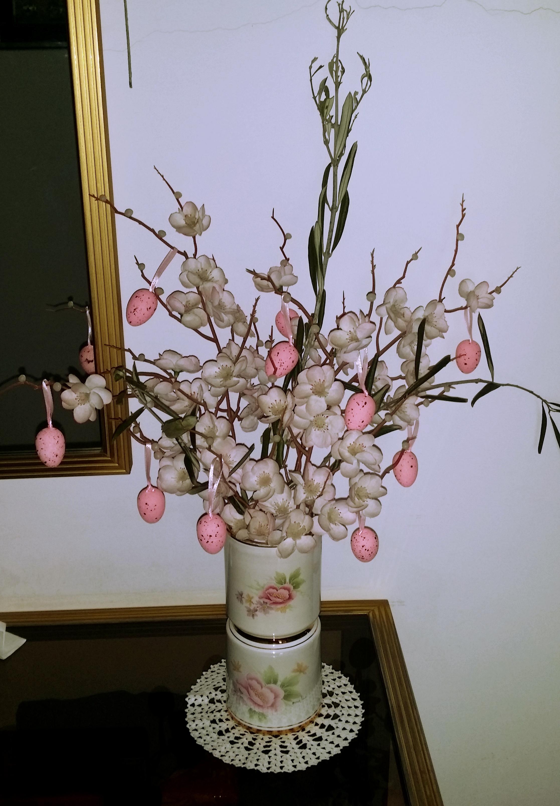 Rami Di Pesco Finti decorare la tavola, realizzare l'albero di pasqua e dei